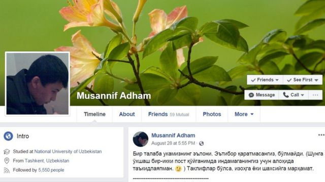 Musannif Adham номи билан машҳур Адҳам Олимов ўз позициясини билдириши билан таниқли эди