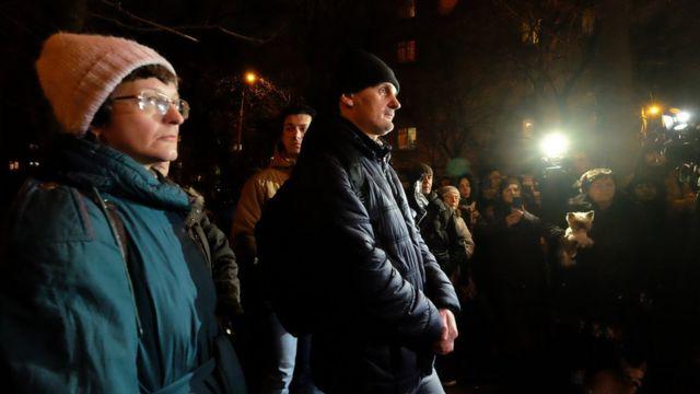 Жители Кунцева