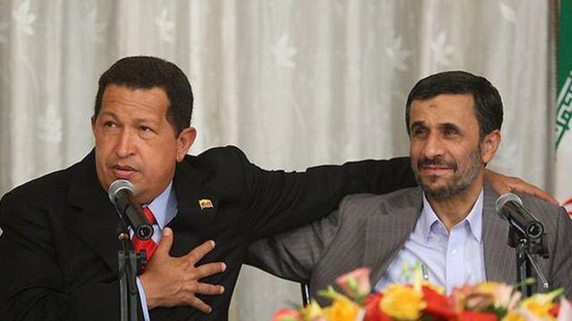 احمدی نژاد و چاوز