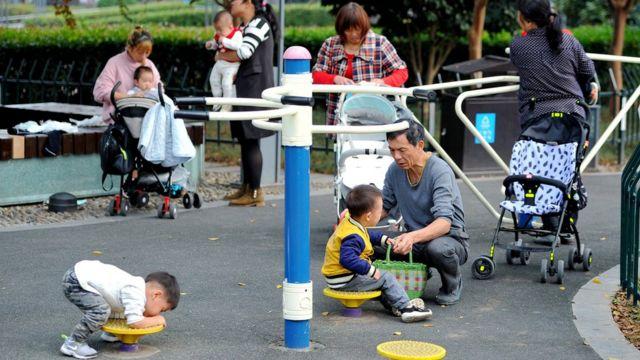 Niños en China