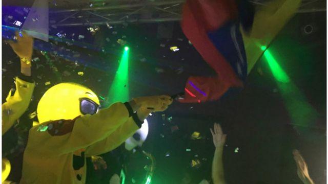 U Venecueli se često na zabavama može videti nacionalna zastava