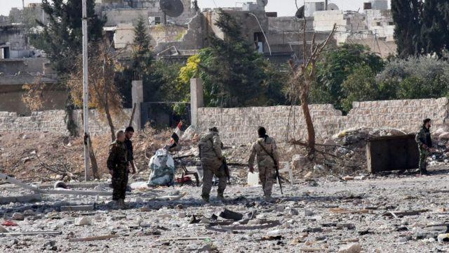 قوات تابعة للحكومة السورية تتقدم في حلب