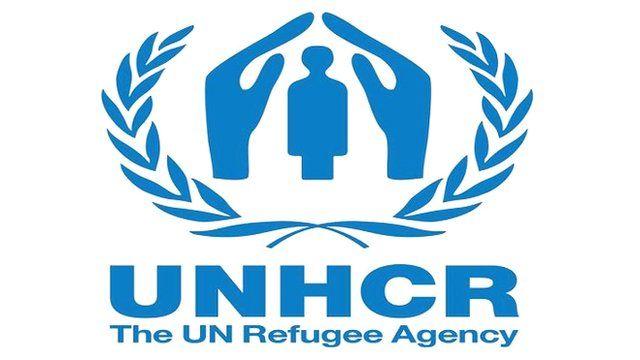 لوگوی آژانس پناهجویان سازمان ملل