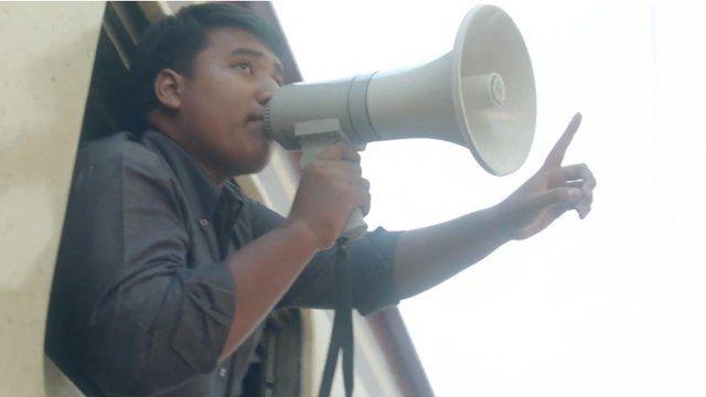 Student protestor Sirawith Seritiwat