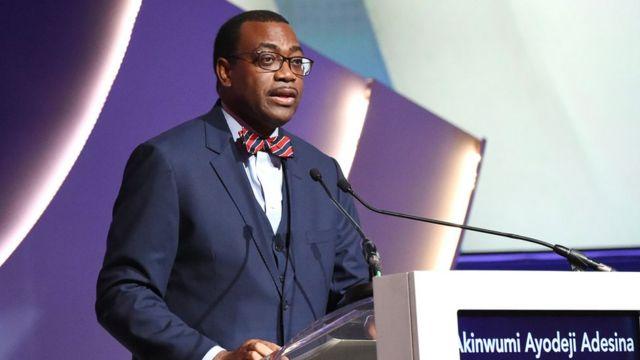Shugaban Bankin raya kasashen Afirka na AfDB Akinwumi Adesina