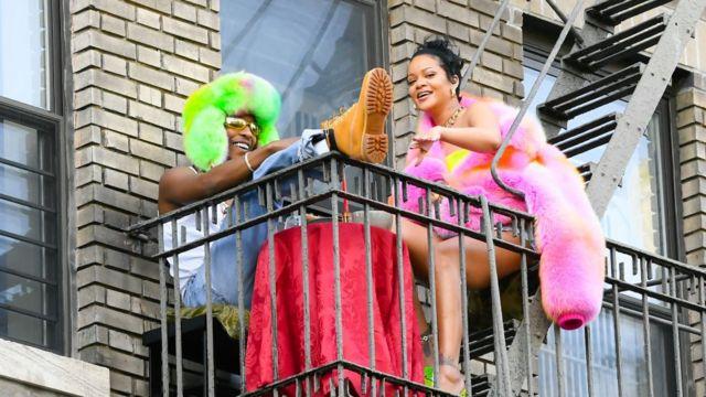 Rihanna y su novio