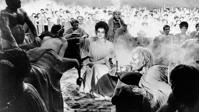 Cena de 'Satyricon' (1969)