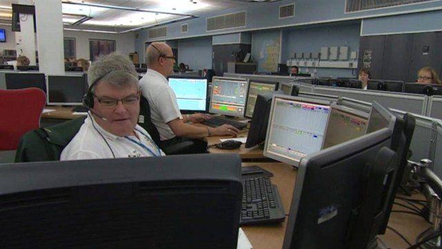 Welsh Ambulance control