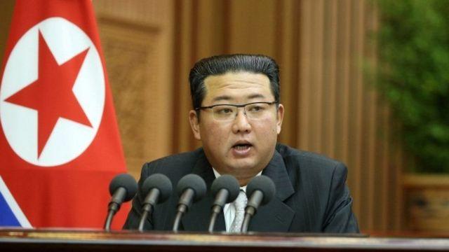 کیم جونگ-اون رهبر کره شمالی