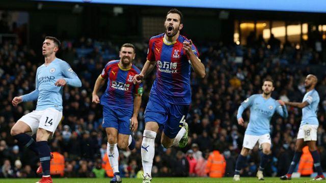 Crystal Palace a battu Manchester City 3-2