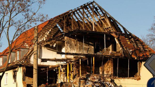 El apartamento que Zschäpe intentó incendiar