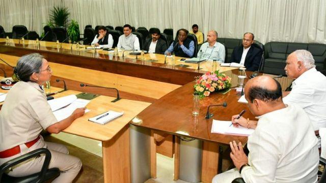 कर्नाटक कायदा-सुव्यवस्था आढावा बैठक