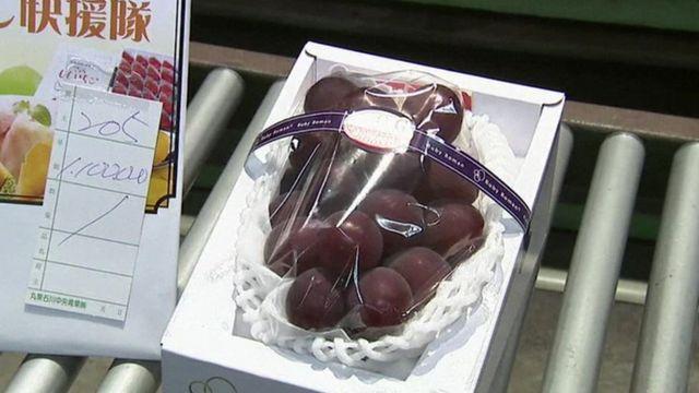 Гроздь винограда, проданная за рекордные 11 тысяч долларов