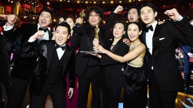 ကိုရီးယားစကားပြော ရုပ်ရှင် Parasite အကောင်းဆုံး ဇာတ်ကား အော်စကာ ဆွတ်ခူး