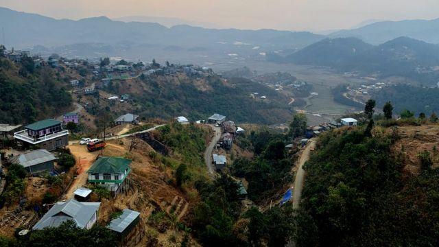 India's north-eastern mountainous Mizoram state