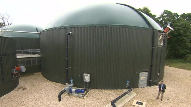The anaerobic digester