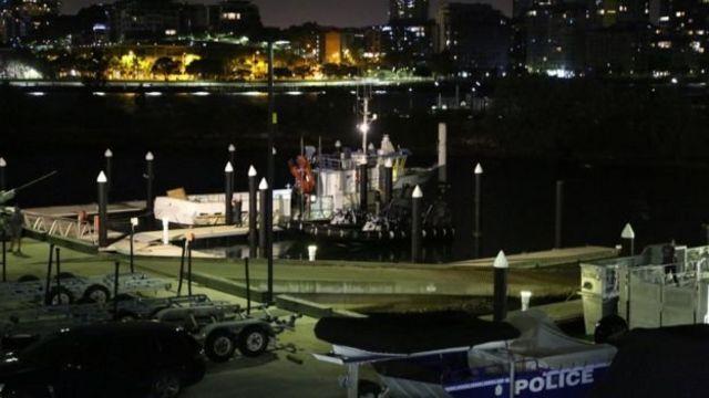 ميناء في استراليا