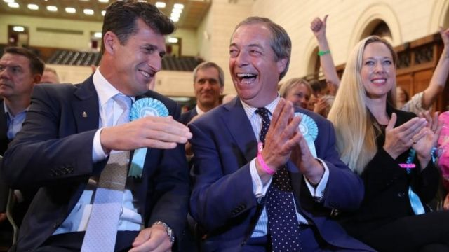 UK European elections 2019: Brexit Party dominates as Tories and Labour suffer