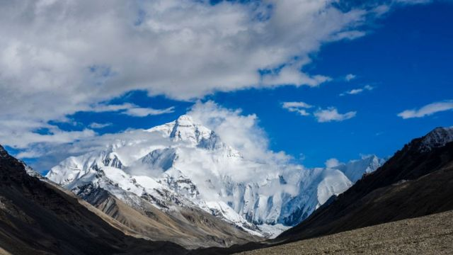 El Everest visto desde el lado chino