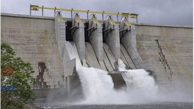 Usina hidrelétrica de Mauá, no Paraná