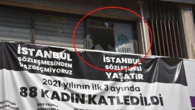 HDP İzmir İl Binası
