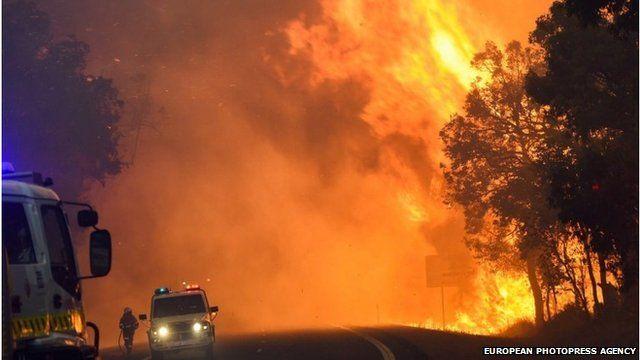 Fire in Yarloop