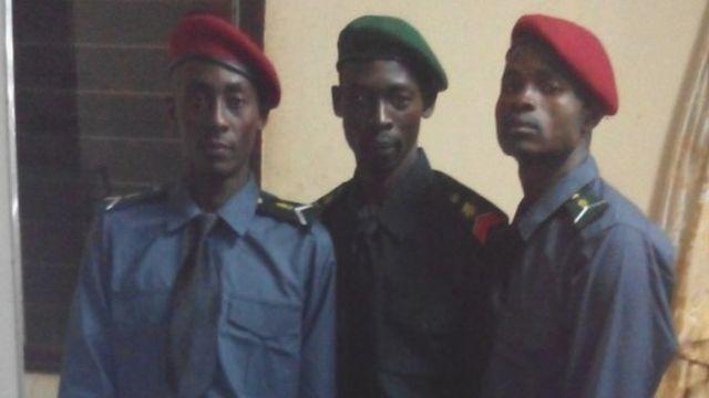 카메룬 군경찰 소속 선수 시절