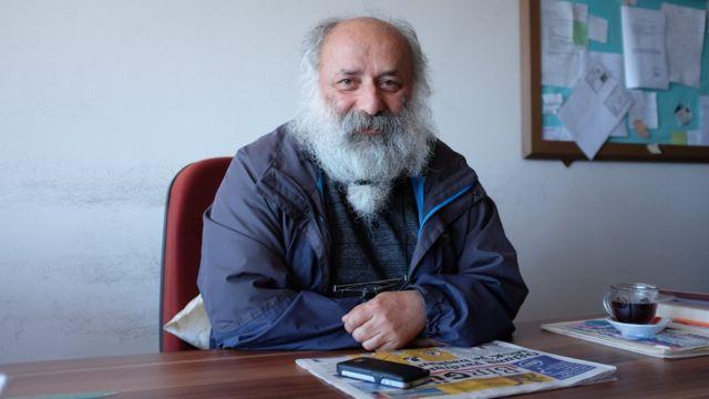 ÖDP Artvin İl Başkanı Mahmut Zeytinci
