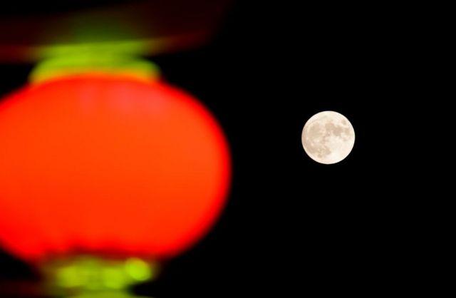 Luna llena en China