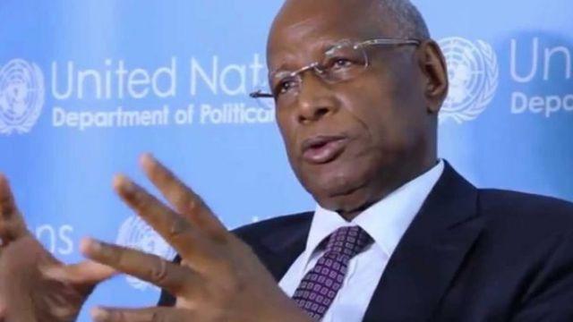 Le Représentant spécial du Secrétaire général de l'Onu, Abdoulaye Bathily appelle les deux parties à l'apaisement