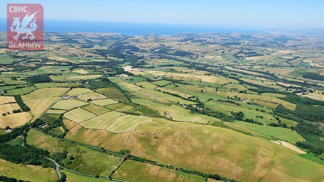 Heatwave unveils ancient settlements in Wales