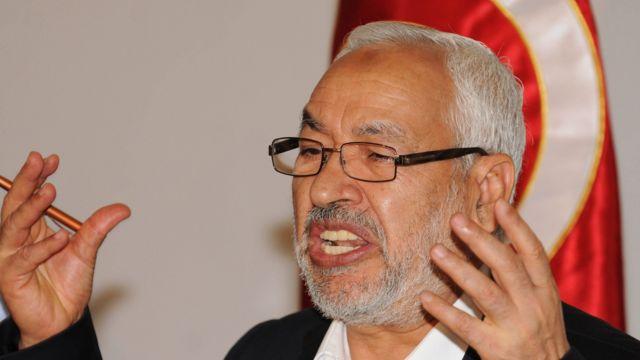 الشيخ راشد الغنوشي زعيم حركة النهضة