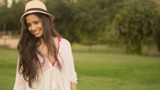 A estudante Melissa Saboya