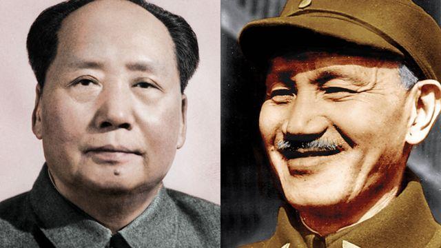 Mao Zedong y Chiang Kai-sh
