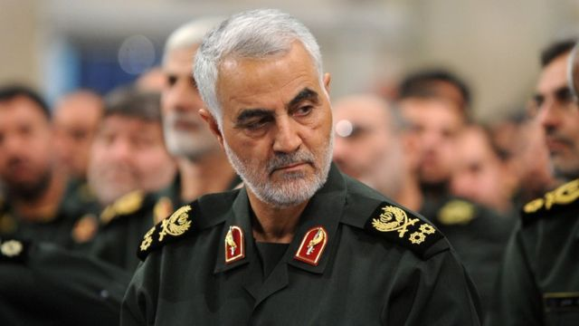 General Qasem Soleimani led the Iranian Quds Force