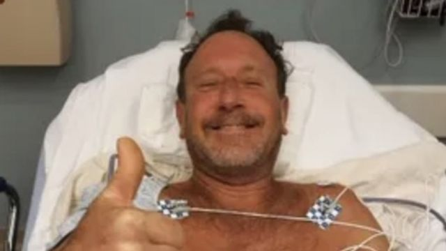 Michael Packard hastanede, 11 Haziran 2021