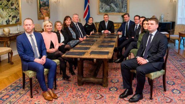 Gabinete islandés