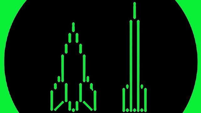 Las dos naves de Spacewar!