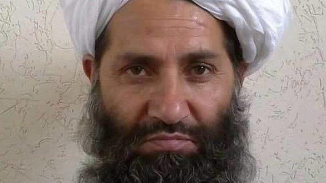 Afghan Taliban leader Mawlawi Hibatullah Akhundzada