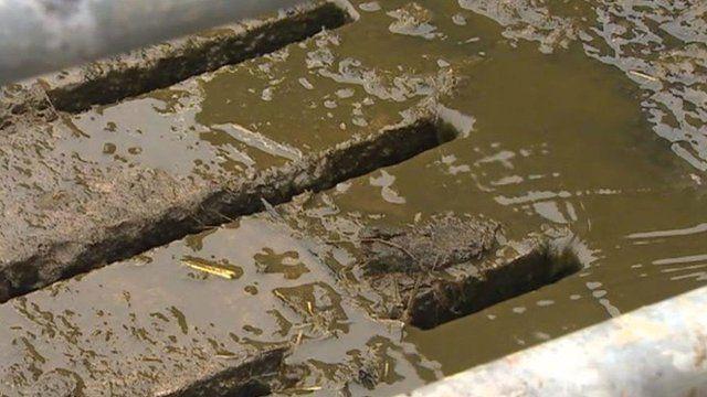 Farm drain