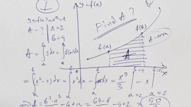 Problema matemático no papel