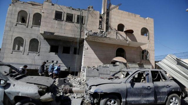 عکس آرشیوی از درگیری های یمن - ۱۳ دسامبر ۲۰۱۷ در صنعا