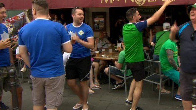 Ni fans gather in Nice