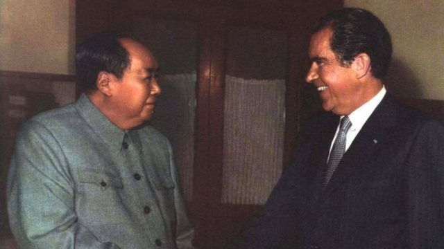 1972 尼克松访问北京