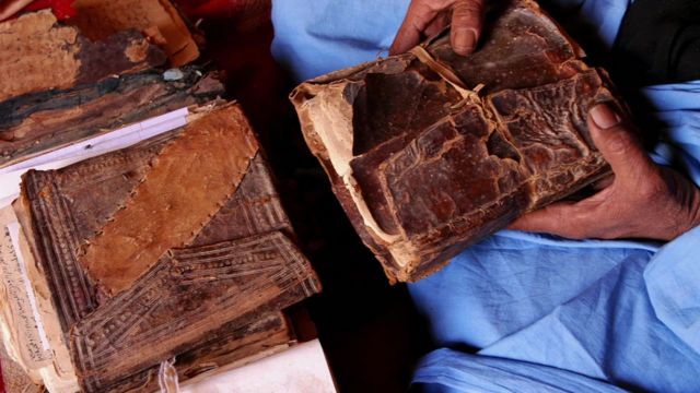 Some of Timbuktu's ancient manuscripts