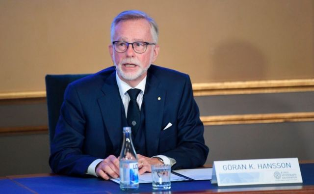 Göran Hansson, Secretário-Geral da Real Academia Sueca de Ciências