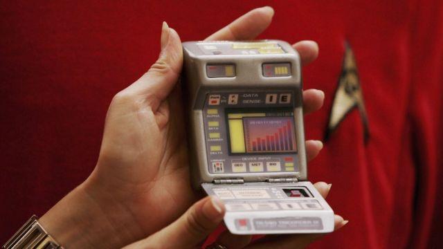 """Tricorder médico de """"Star Trek""""."""