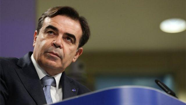 Avrupa Komisyonu Başkan Yardımcısı Margaritis Schinas
