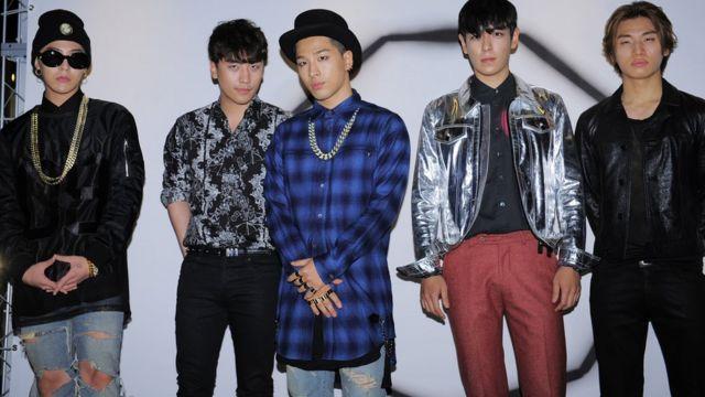 Bigbang pictured in September, 2014