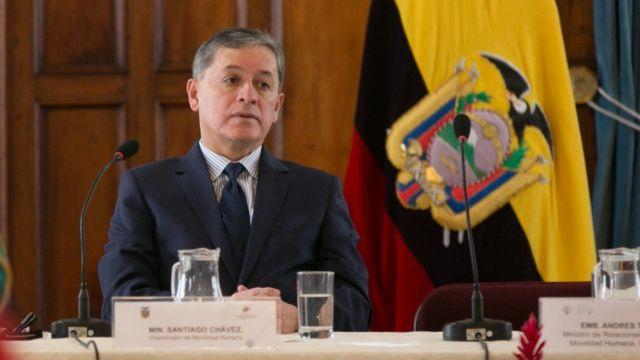 Viceministro de Ecuador